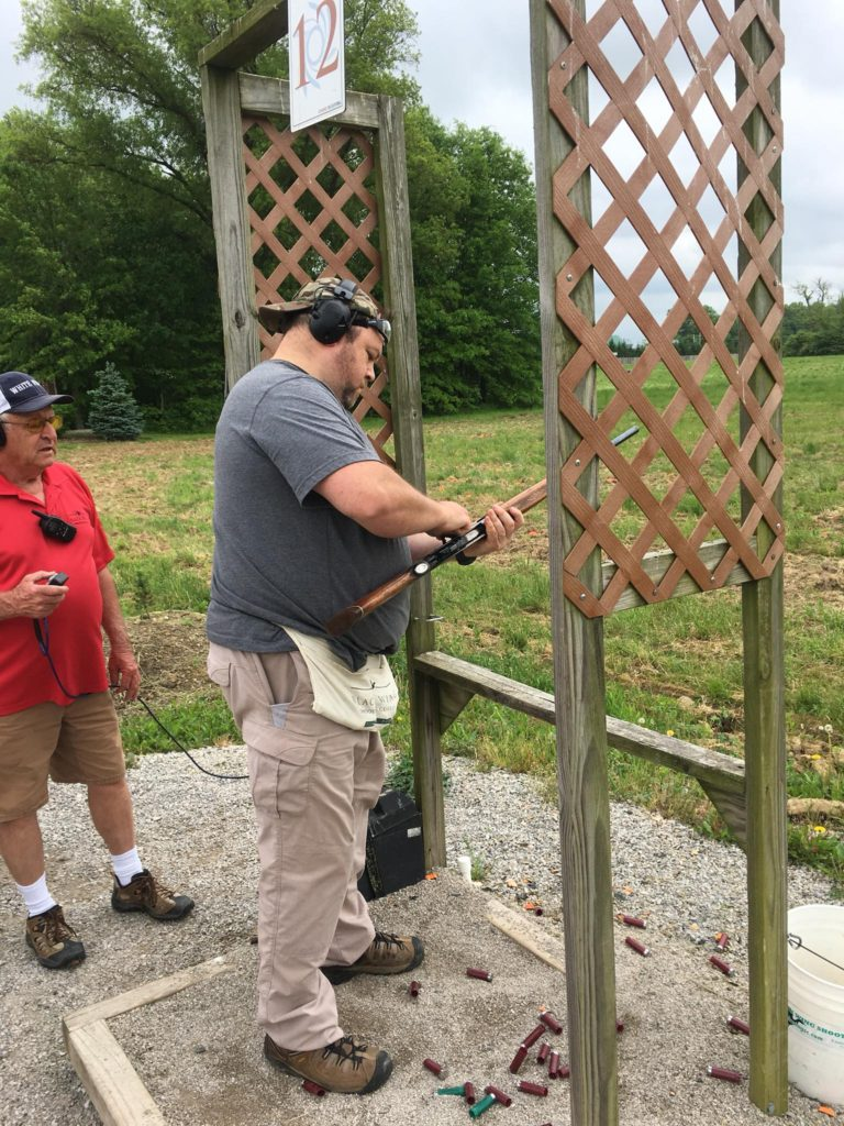 2018 sporting clay event